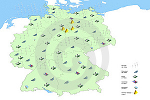 Forecast Energy In Germany In 2050 Royalty Free Stock Photo - Image: 19488105
