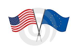 Flags. Union Metaphor Stock Image - Image: 19490181