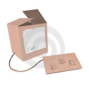 Cardboard Computer Stock Image - Image: 19490921