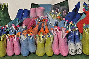 Wool Shoes Royalty Free Stock Photography - Image: 19491587