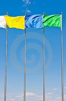 Flying Flag Stock Image - Image: 19494211