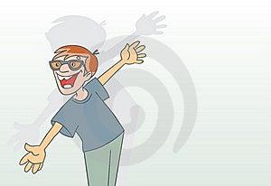 Cartoon Man Stock Images - Image: 19494684