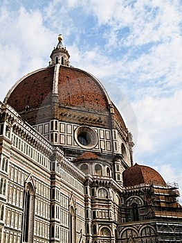 Dome Of The Florence Duomo , Italy Stock Image - Image: 19496811