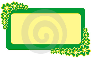 Frame For Patrick's  Day Royalty Free Stock Photography - Image: 1950897