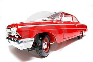 1962 Chevrolet Belair metal scale toy car fisheye #6 Stock Images