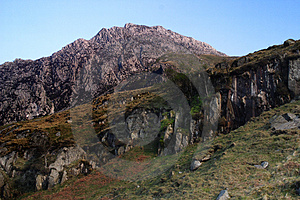 Rocks In Snowdonia Royalty Free Stock Image - Image: 1956716