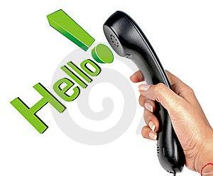 Phone Communication Royalty Free Stock Photo - Image: 19502625