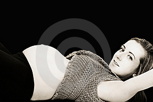 Pregnant Woman Stock Images - Image: 19503654