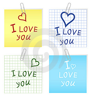 I Love You2 Stock Photo - Image: 19505430