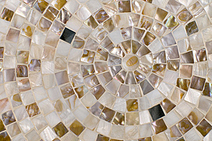 Concentric Mosaic Background Royalty Free Stock Photo - Image: 19506925