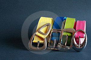 Coloured Belts Royalty Free Stock Photography - Image: 19508857