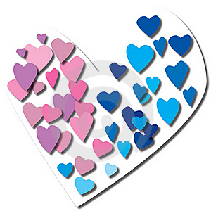 Hearts Royalty Free Stock Photography - Image: 19510397