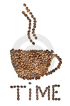 Roasted Coffee Beans Stock Photos - Image: 19510713