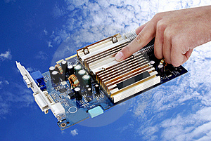 Tame Of Computer Technologies. Stock Images - Image: 19514704