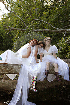 Depressed Brides Stock Photography - Image: 19516032
