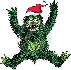 Monster Christmas Stock Photography - Image: 19517412