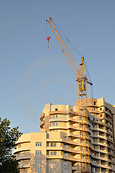 Boom Crane. Royalty Free Stock Photo - Image: 19518035