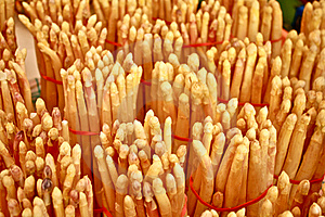 White Asparagus Stock Images - Image: 19522904