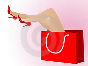 Sexy Legs Royalty Free Stock Image - Image: 19524376