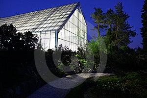 Greenhouse Illuminated Stock Images - Image: 19525614
