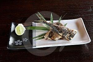 Grill Fish , Japanese Food Saba Fish Grill Stock Photography - Image: 19527422