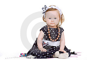 Young Fashion-conscious Girl Royalty Free Stock Photos - Image: 19528188