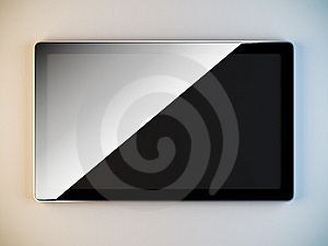Minimalist Style Lcd Panel. Stock Images - Image: 19528344