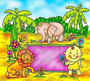 Funny Cartoons Royalty Free Stock Photo - Image: 19529095
