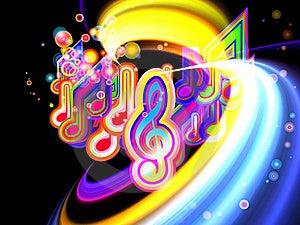 Light Of Music Stock Image - Image: 19529241