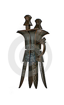 Ancient Chinese Artifact Royalty Free Stock Photography - Image: 19534677