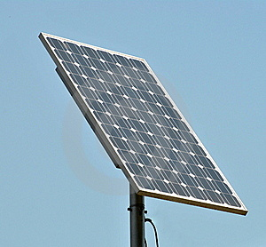 Solar Panel Royalty Free Stock Photos - Image: 19537078