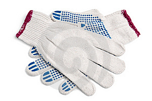 Pair Of New Work Gloves Stock Photography - Image: 19539192