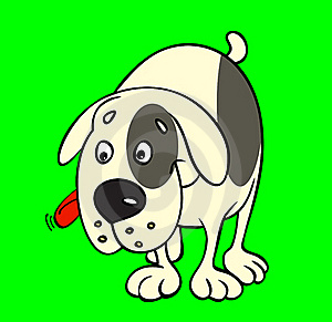 Cartoon Dog Royalty Free Stock Photography - Image: 19540927