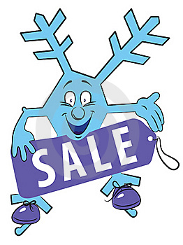 Winter Sale Stock Photo - Image: 19542430