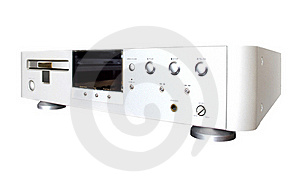 Expensive Audio CD Player Stock Images - Image: 19542814