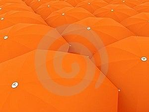 Orange Sunshade Massive Background Royalty Free Stock Image - Image: 19542956