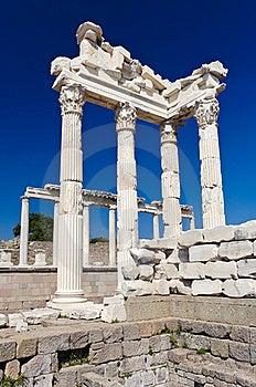 Temple Of Trajan Stock Image - Image: 19544961