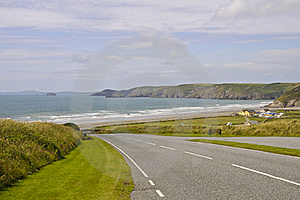 Newgale Bay Stock Photography - Image: 19552372