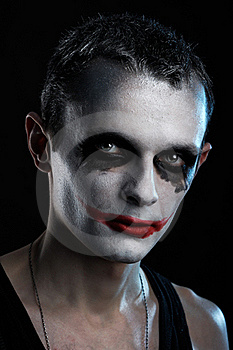 Man joker Royalty Free Stock Images