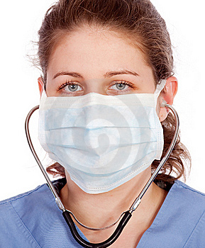 Young Medical Worker Royalty Free Stock Images - Image: 19554059