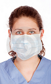 Young Medical Worker Stock Image - Image: 19554061