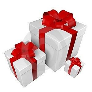 Gift Boxes Stock Photo - Image: 19555790