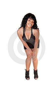 Girl In Black Dress 2. Royalty Free Stock Image - Image: 19558146
