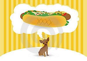 Hot Dog Royalty Free Stock Photos - Image: 19558228