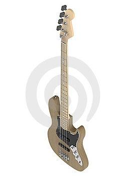 Jazz Bass Guitar Royalty Free Stock Photos - Image: 19558978