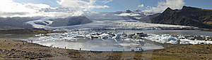 Glaciers And Icebergs, Iceland Royalty Free Stock Images - Image: 19559779