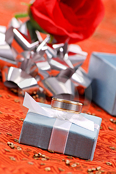 Promise Ring For Him Royalty Free Stock Image - Image: 19566586