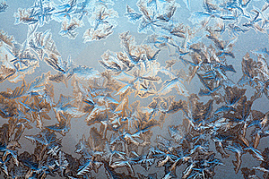 Ice On The Glass Royalty Free Stock Photography - Image: 19567287