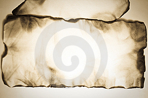 Burnt Old Paper Stock Image - Image: 19572681