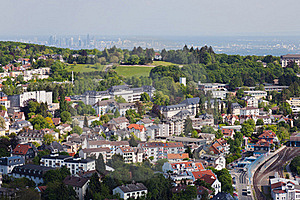 Koenigstein And Frankfurt Royalty Free Stock Photography - Image: 19578807